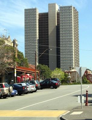 Blok socjalny w Melbourne, Australia