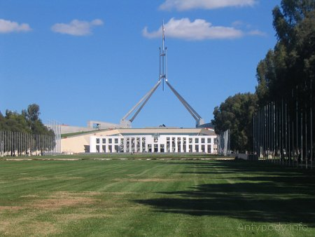 Canberra - nowy parlament