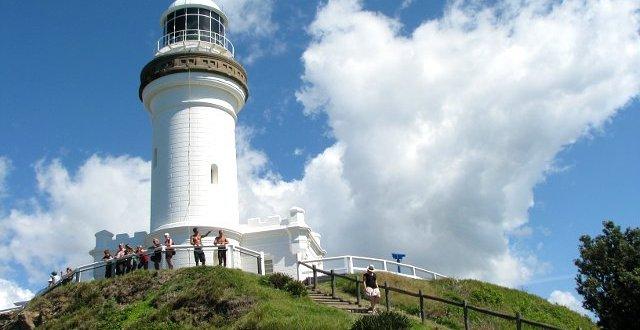 latarnia morska na Cape Byron, Byron Bay, wschodni przylądek Australii