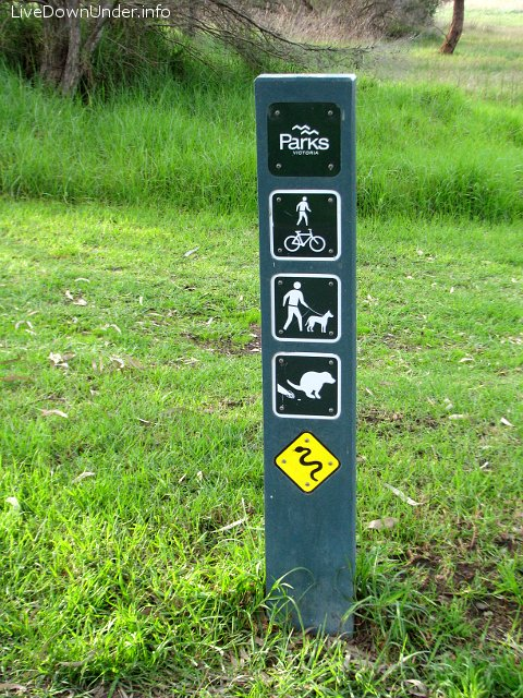 sprzątaj po swoim psie, Jells Park, Melbourne