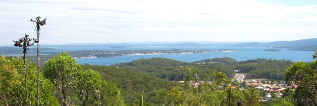 Port Stephens - punkt widokowy