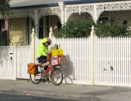 listonosz, Windsor, Wiktoria, Australia