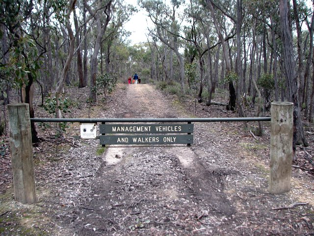 Brisbane Ranges National Park, sekcja Steiglitz