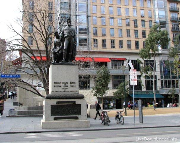 Pomnik Burke'a i Willsa w Melbourne