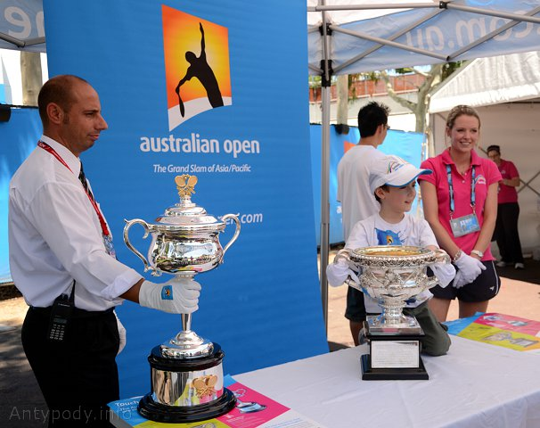Australian Open 2011 - dzień dla dzieci