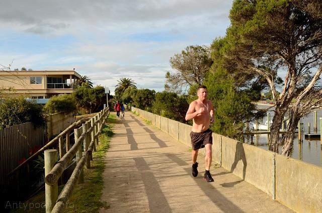 jogging w Australii, Chelsea, Melbourne, Australia