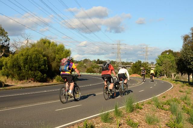 Ścieżka rowerowa w Australii, Melbourne