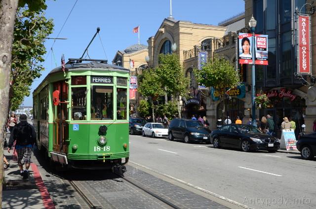 Tramwaje w San Francisco