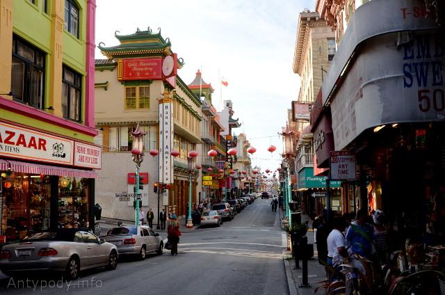 Chinatown, San Francisco, Kalifornia