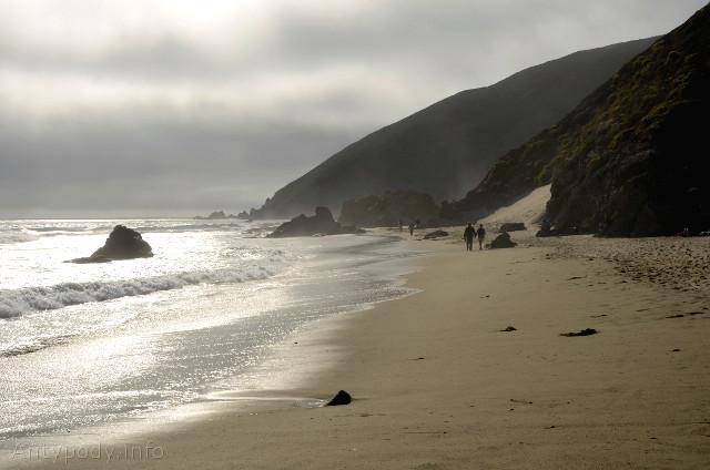 Pfeiffer Beach, Big Sur, Kalifornia, USA