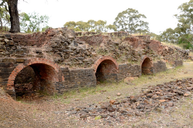 Castlemaine, ruiny