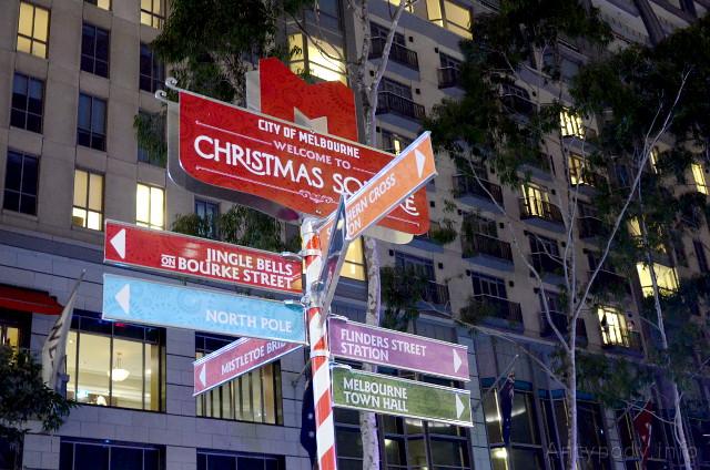 Christmas Square, Melbourne, Australia
