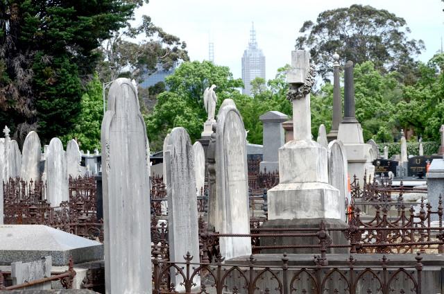 Cmentarz w Melbourne, Australia