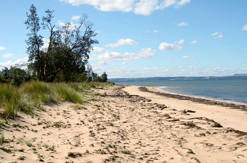 plaża na French Island