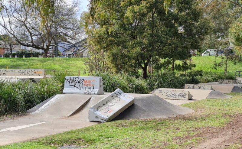 Skate park zablokowany