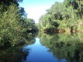 Una de sus propiedades donde mantienen bajo protección las cuencas de arroyos y los bosques nativos.