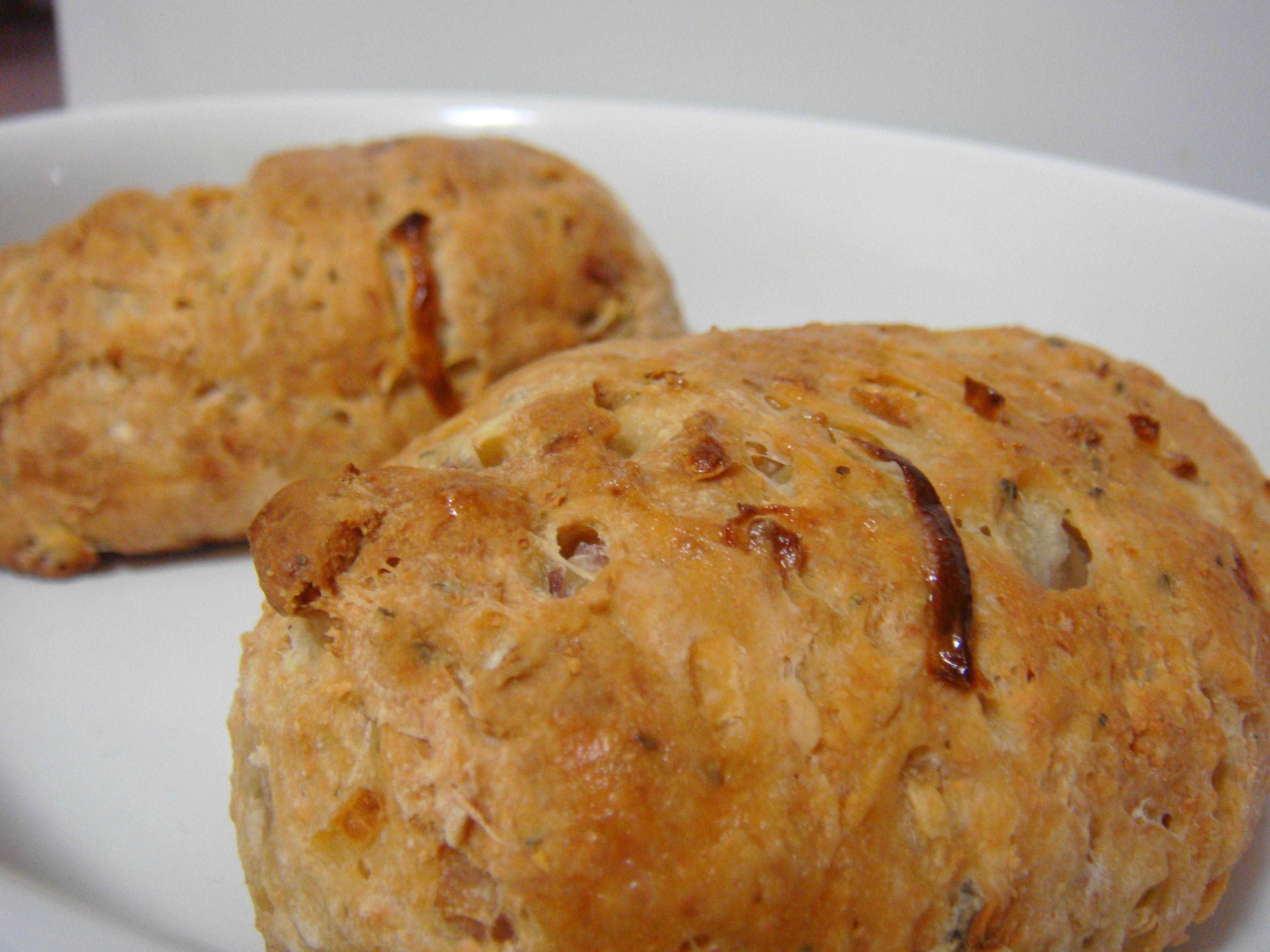 Freshly baked fragrant bread...