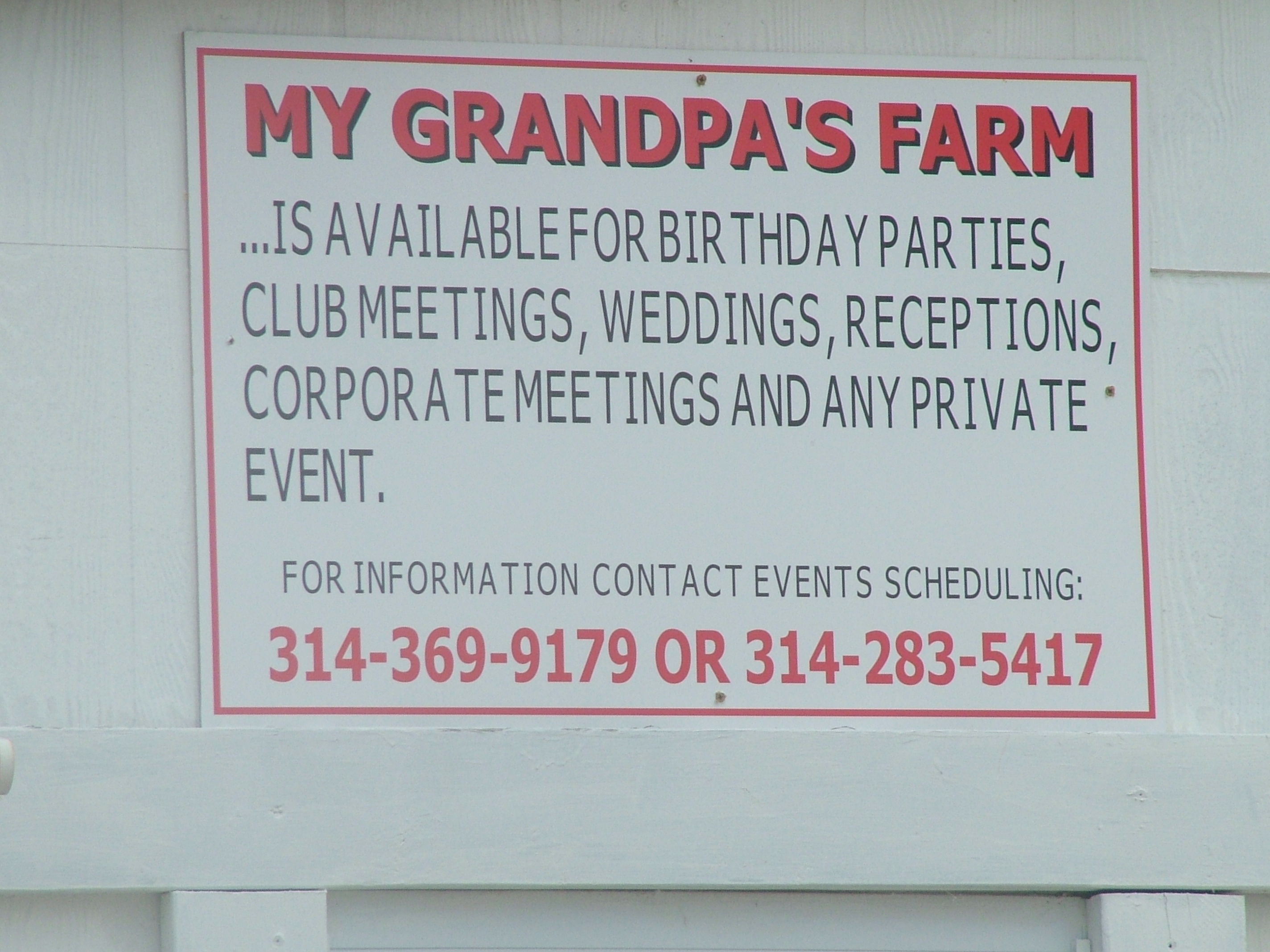 My Grandpa`s Farm