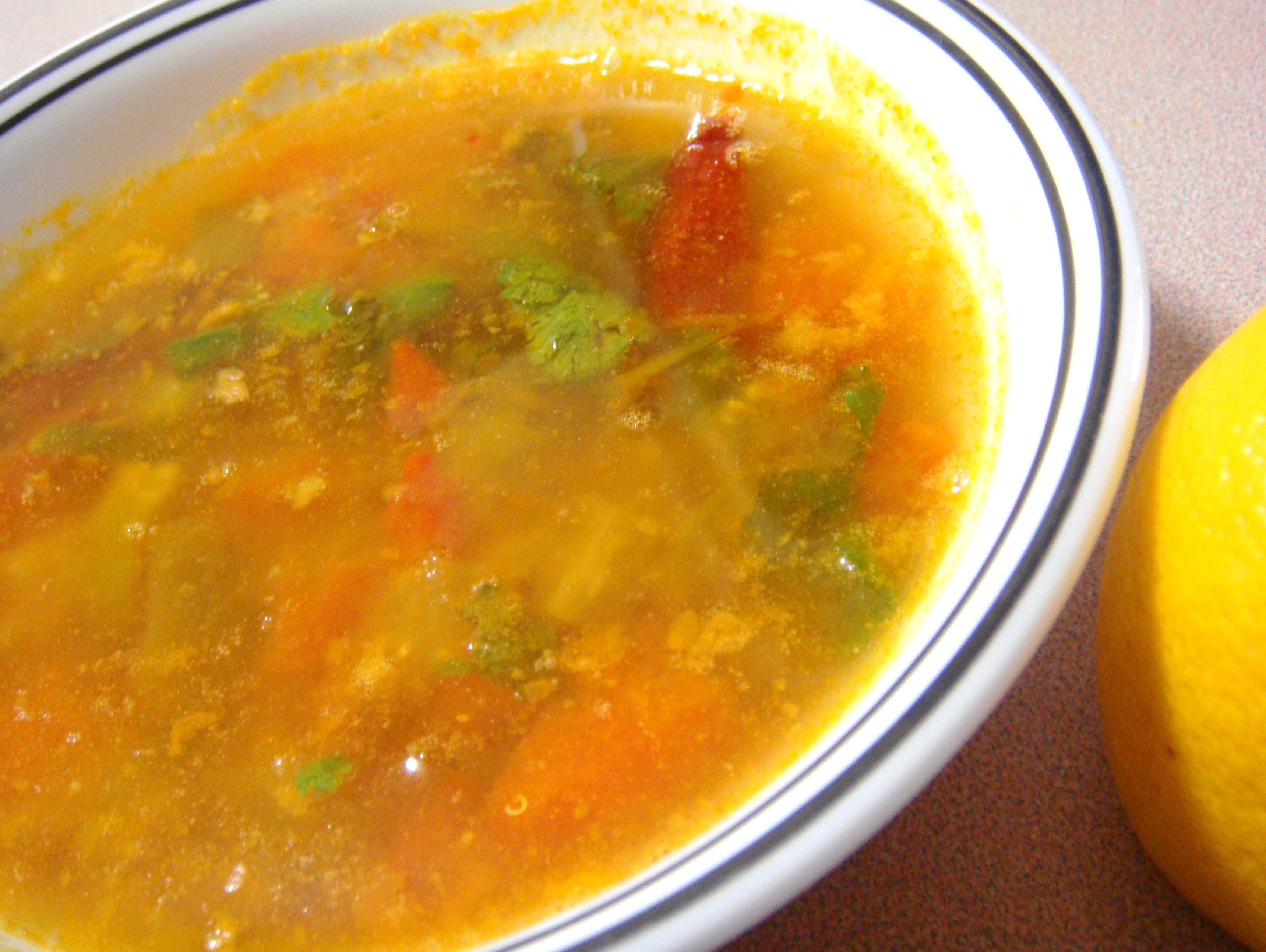 Tangy Tomatillo Lemon Rasam.