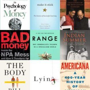 Good books of 2020