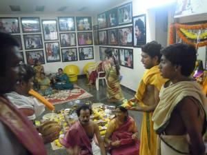 At daivagna Sharma's home 1