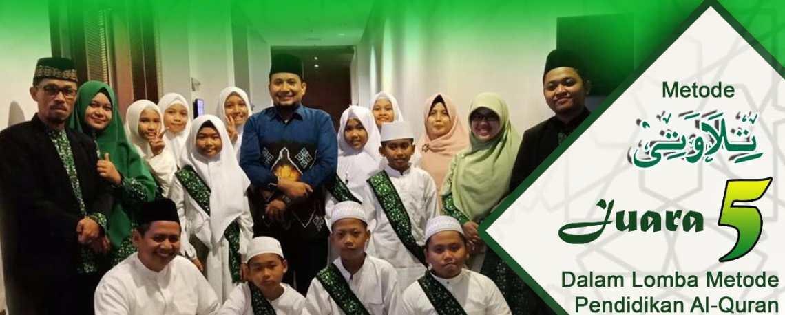 Juara 5 Lomba Metode Pendidikan Al- Qur'an Tingkat Nasional