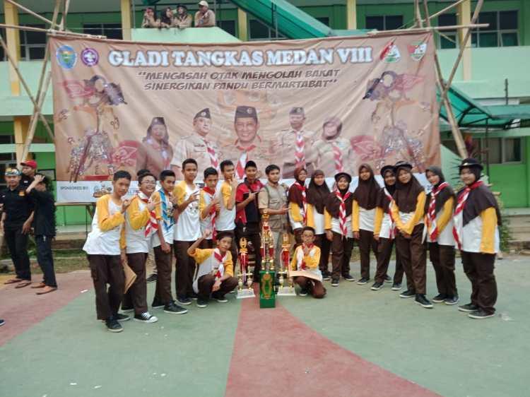 Juara Lomba Pramuka Tingkat Jawa Barat