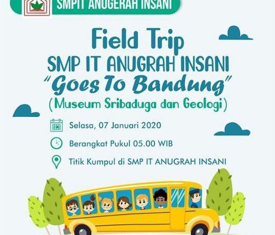 SMPIT Anugerah Insani Goes to Bandung