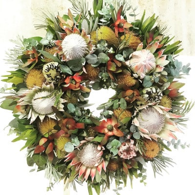 Grand Protea Wreath