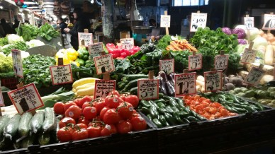 Fresh produce at Pike's Place