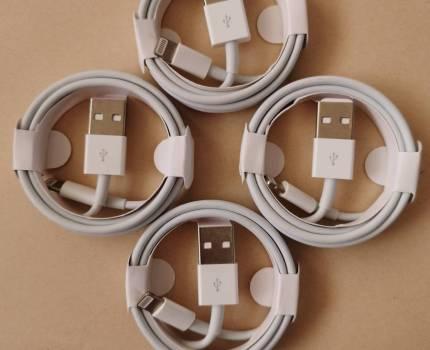 アップル ライトニング usb ケーブル 2A 急速充電 1m 4本 apple lightning usb cable iPhone 5~ ipad 工場直売 厚い線径 高品質
