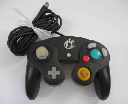 H3185棚25 Nintendo★任天堂 GC/ゲームキューブ 【DOL-003】 スマブラブラックコントローラー GAMECUBE