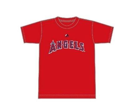 【未開封新品】大谷翔平 Tシャツ エンゼルス MLB マジェスティック Majestic 赤 レッド Mサイズ