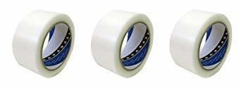 透明 50mmx25m TERAOKA(寺岡) 養生用 P-カットテープ 50mm×25m (透明) No.4140