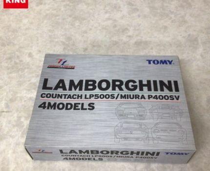 1円~ 未開封 トミカリミテッド ランボルギーニ カウンタック LP500S/ミウラ P400SV 4台セット