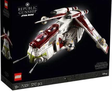 レゴ (LEGO) スター・ウォーズ リパブリック・ガンシップ 75309
