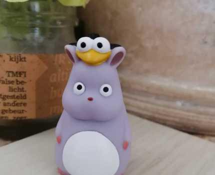 ☆新品 ジブリ フィギュア 指人形【千と千尋の神隠し】坊ネズミ ハエドリ