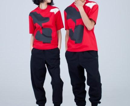 19AW 定価14040円 Y-3 ワイスリー Adidas アディダス yohji yamamoto ヨウジヤマモト ロゴ プリント Tシャツ sizeL FJ0333