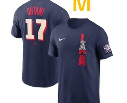 新品・未開封 2021 大谷翔平 MLB オールスター ホームランダービー 出場 公式ユニフォーム Tシャツ ナイキ NIKE Mサイズ