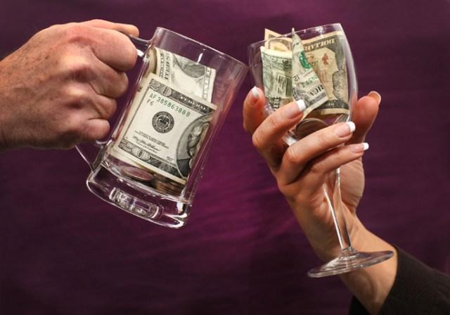 auaom money alcohol