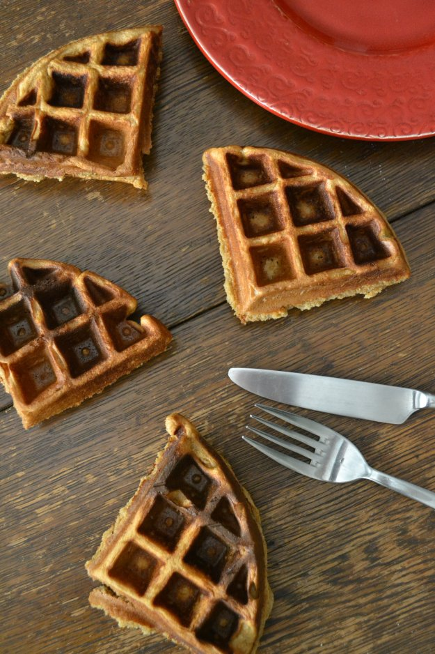 Vegan Apple Butter Waffles by An Unrefined Vegan