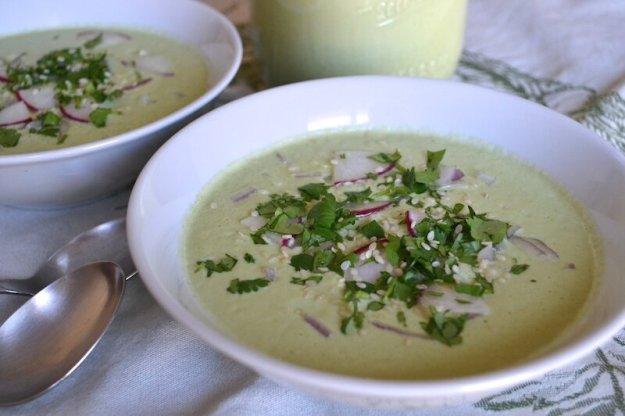 Raw Broccoli Soup An Unrefined Vegan