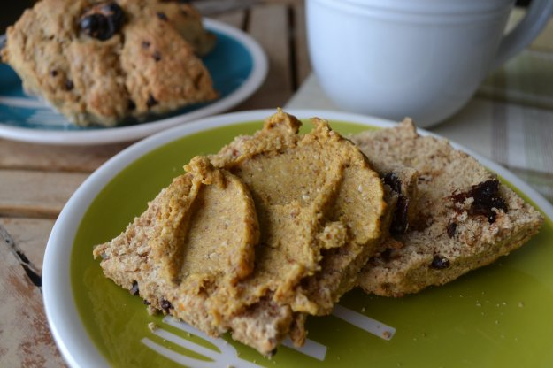 Almond Butter Biscuits by An Unrefined Vegan