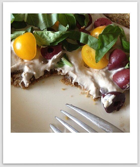 Raw Pizza An Unrefined Vegan