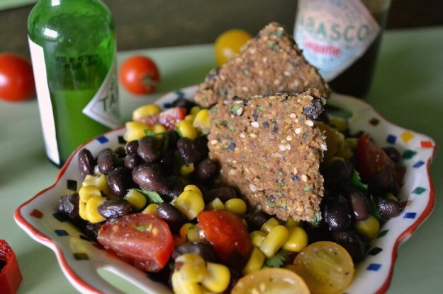 Black Bean and Corn Chips An Unrefined Vegan
