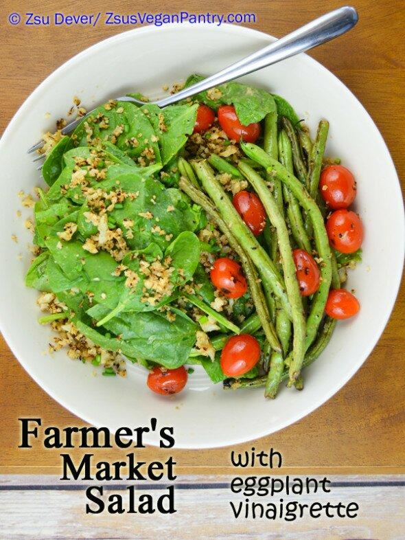 Zsu's Vegan Pantry Farmers Mkt Salad