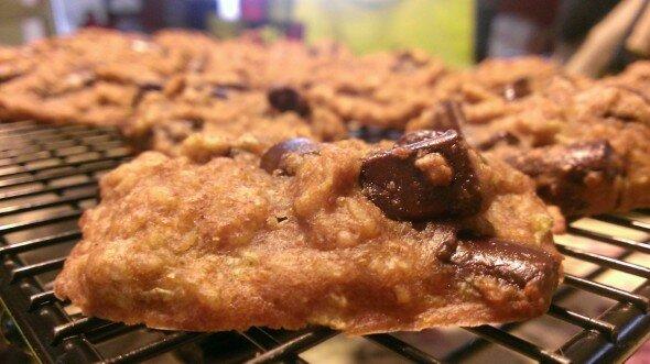 Zucchini PowerChip Cookies
