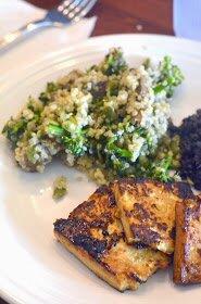 Eggplant Quinoa Salad