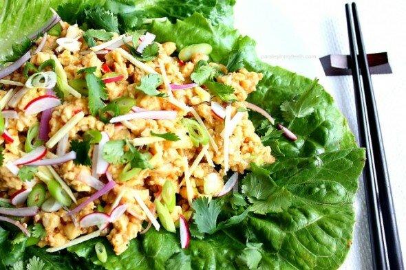 Vegan-Nam-Sod-Salad