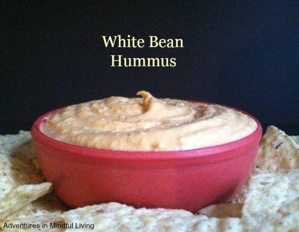http://www.adventuresinmindfulliving.com/white-bean-hummus/